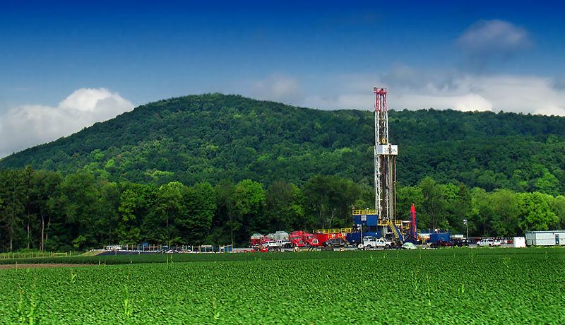 Plata de Fracking en Pensilvania (Crédito: Nicholas A. Tonelli, Flickr)