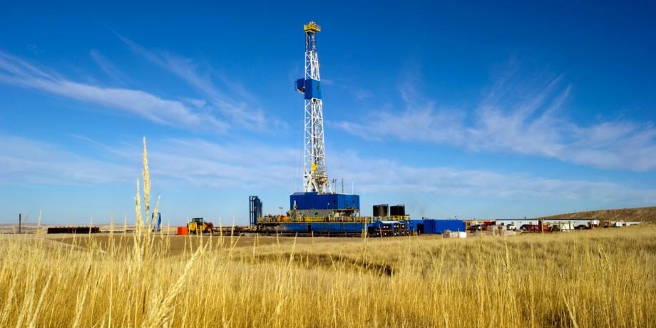 Planta de fracking en EE.UU